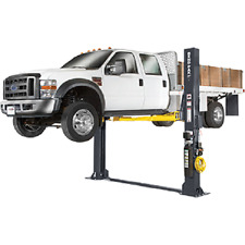 BendPak XPR-12FDL 12,000 lb Direct-Drive Two-Post Lift with Floorplate