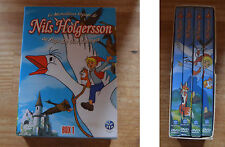 Coffret DVD Box 1, le merveilleux voyage de Nils Holgersson, 13 épisodes en tout