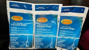 Electrolux Sanitaire Style SL Vacuum Bags (9) Replaces 61125B Fits:S782 &SC785