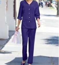 Women's Business work Casual party church Day 2PC Pant suit gift plus 1X 2X3X4X