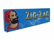 1 box    ZIG ZAG Blue  /slow burning /regular cigarette paper x 50  booklets