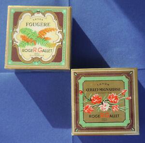 ROGER & GALLET Badeseife/Duftseife Vintage je 175 Gramm OVP NEU Fougère/Farn UND