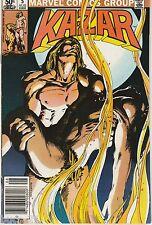 Ka-Zar the Savage #5 Aug 1981, Marvel Comic Book FN