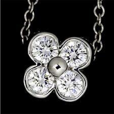 ❄❄ CHANCE Collier Or  Blanc / Jaune 18K 18 CARATS Diamant 0,50ct CADEAU IDEAL ❄❄