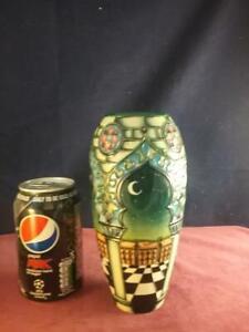 Stunning Rare Moorcroft Pottery Jumeirah  Vase