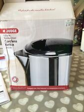 Judge JEA52 Electric Kettle 2400W 1.2L Stainless Steel 2 Year Guarantee