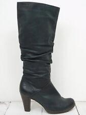 TAMARIS ❤ Stiefel Gr. 37 Damen Dunkelgrau Boots Scarpe Schuhe