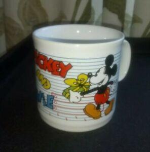 Vtg. Mickey & Minnie Ceramic Cup - Good Condition