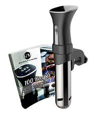 Sous Vide Cooker Machine Thermal Immersion Circulator Quality Built FREE Book