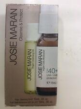 JoSie Maran Argan Oil Infused Antioxidant Serum Cleanse Oil & Moisturiser