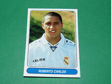 N°44 ROBERTO CARLOS REAL MADRID ESPAÑA PANINI EUROPEAN FOOTBALL STARS 1996-1997
