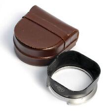 Rollei Gegenlichtblende Bajonett III * Rolleiflex lens hood R III + case