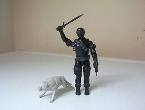 vintage Action Force/G.I.JOE, SNAKE EYES figure [complete]