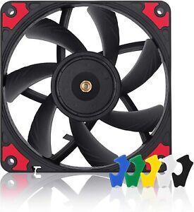 Noctua NF-A12x15 PWM chromax.black.swap 12V 1850RPM 120x15mm Fan (Black)