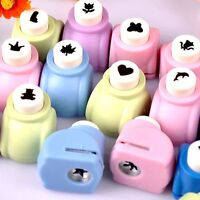 Mini Shaper Paper Punch for DIY Card Making Cutter Scrapbooking Tags 18 Styles