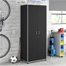 Tall Metal Garage Cabinet Storage Shelves Tools Organizer Heavy Duty Lockable