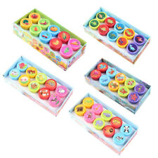 10Pcs/Set Stamps Kids Children Toys Animals Fruit Recognition Training