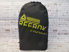 REEBOK Backpack FOUND Graphic Logo Rucksack Black Shoulder Laptop Bag BNWT