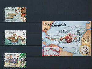 LN49920 Turks & Caicos ships Columbus explorer fine lot MNH