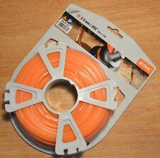OEM Stihl Strimmer Pentagonal Line 2.4mm 100m Orange KM85 KM90 KM110 KM130 FS-KM