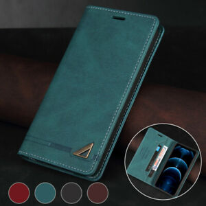 Magnetic Wallet Case Leather Flip Cover for Samsung Galaxy Note20 Ultra 10+ 9 8
