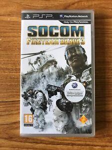 PSP SOCOM: Fire Team Bravo 3 (Sony PSP) Brand New Factory Sealed