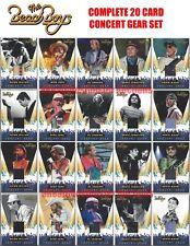 2013 Panini The Beach Boys Complete Set of All 20 Concert Gear Memorabilia Cards