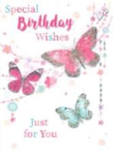 Small Male 16th Age 16 Birthday Card Simon Elvin Stars FREEPOST