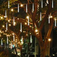 GOVEE 30cm LED Lights Meteor Shower Rain 8Tube Outdoor Icicle Snow Falling Light