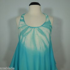 GUESS Sheer Tie-Dye Swing Tunic size S