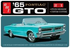 AMT 1/25 Scale 1965 Pontiac GTO Plastic Model Kit AMT1191