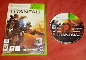 Titanfall (Microsoft Xbox 360, 2014) No Manual *TESTED*