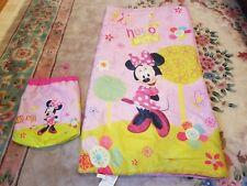 Disney Minnie Mouse Bowtique Slumber Sack Cozy Warm Kids Lightweight Slumber