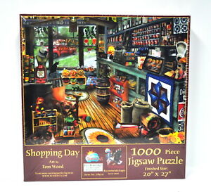 Shopping Day Jigsaw Puzzle 1000 Piece