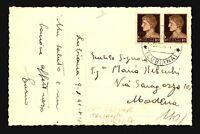 Italy 1941 Lubiana Occupation Postcard to Modena  - Z17931