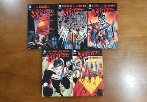 SUPERMAN Vol. 1 2 3 4 5 New Edition 2016 SET DC Comics TPB GN SC OOP NEW UNREAD