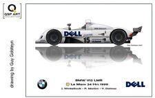 Coffee Mug 1999 24h Le Mans winner BMW V12 LMR #15 by Guy Golsteyn