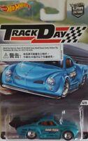 Hot Wheels TrackDay Rennwagen 4/5 Volkswagen Karmann Ghia, für Jungen, Neu, Blau