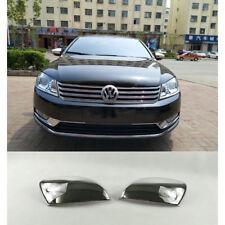 Fit For VW Passat B7 2012-2017 ABS Chrome Side Mirror Trim Molding Cap Overlays
