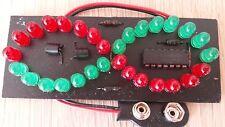"""MODUL LO30 """"SINUS-WELLE"""" ROT+GRÜNE LED`s 5mm wunderschönes Geschenk     2880"""