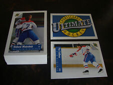 1991-92 Ultimate Hockey---Lot Of 55---No Dupes---NrMt