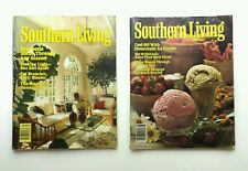 2 Vintage Southern Living Magazines August 1980 January 1985 Ice Cream, Sunrooms
