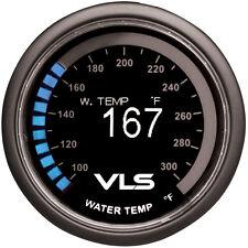 "Revel Vls Water Temp Temperature Gauge 100 F-300 F 52Mm 2-1/16"" Oled Led"