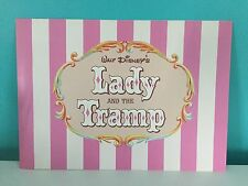 4 Disney Store Lithographs Lady And The Tramp 1998 11� X 14� Lithos & Portfolio