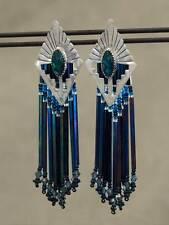 NWOT OOAK Annabelle Peterson Navajo Native American  Earrings Sterling SS