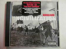 BIOHAZARD UNCIVILIZATION LIMITED EDITION CLEAN VERSION FOR RADIO PROMO CD RARE