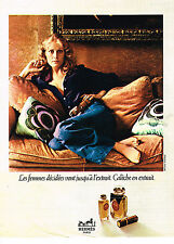 PUBLICITE ADVERTISING 014   1972   HERMES  pafum  CALECHE