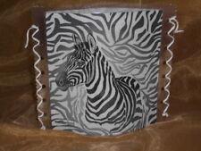Tischlicht/Windlicht Zebra - Afrika