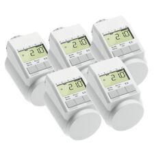 Eqiva Model L Elektronik-Heizkörper-Thermostat mit Boost-Funktion, 5er-Set