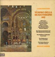"Monteverdi( 2x12"" Vinyl LP Box Set)Vespro Della Beata Vergine-Decca-SET-VG/VG+"